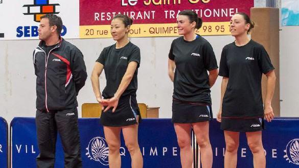 Newsouest toute l 39 actualit du quimper club tennis de table - Lys lez lannoy tennis de table ...